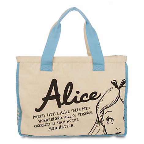 Alice in Wonderland Tote -- Back