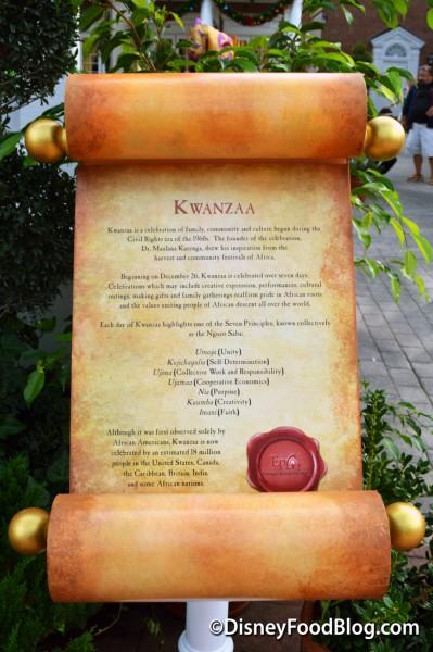 Kwanza Holiday's Around The World