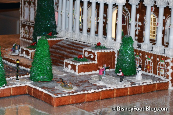 Details Of The Gingerbread Display of the U.S Capitol Building
