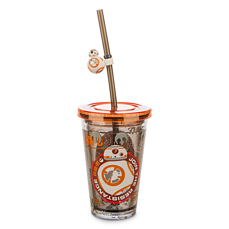 BB-8 Tumbler with Straw