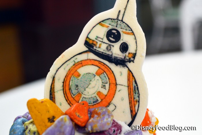 White Chocolate BB-8 Droid