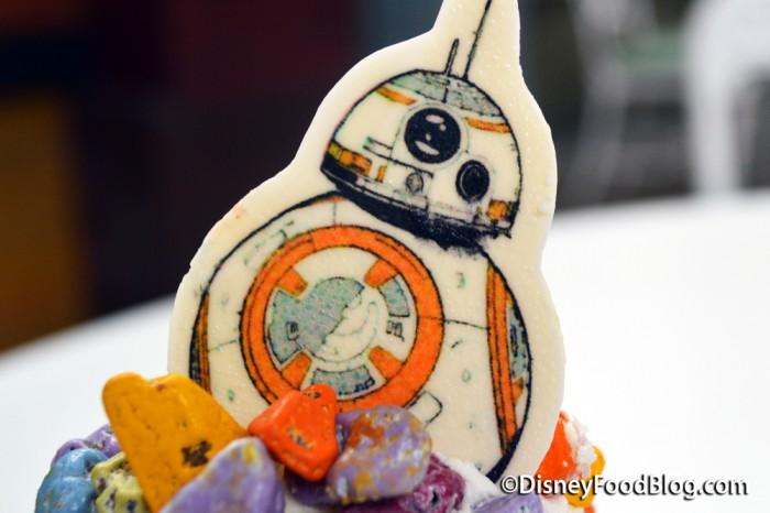 White Chocolate BB-8 Droid