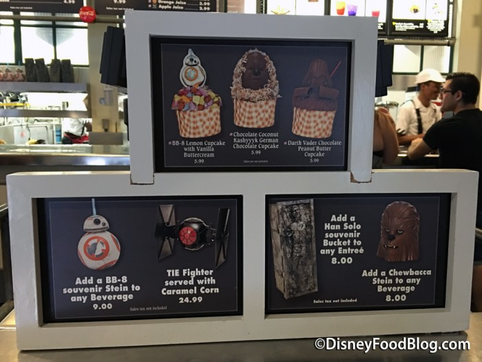 Star Wars Eats At Backlot Express
