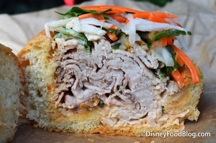 Cross Section of the Banh Mi
