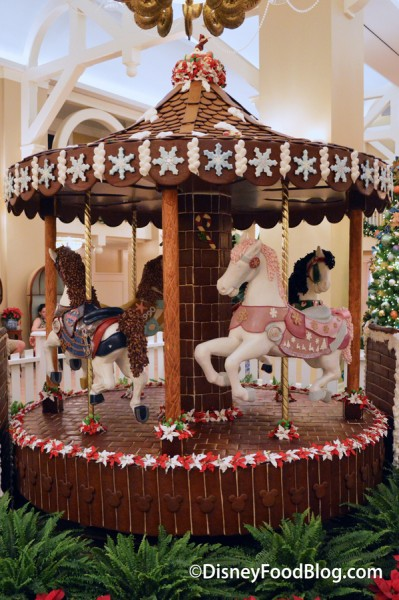 Beach Club Gingerbread Carousel