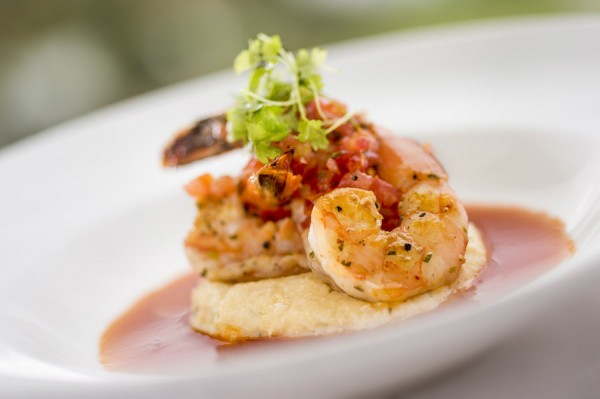 Shrimp and Grits at California Grill's Brunch at the Top