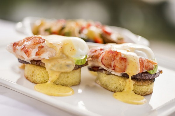 Lobster Eggs Benedict -- Up Close