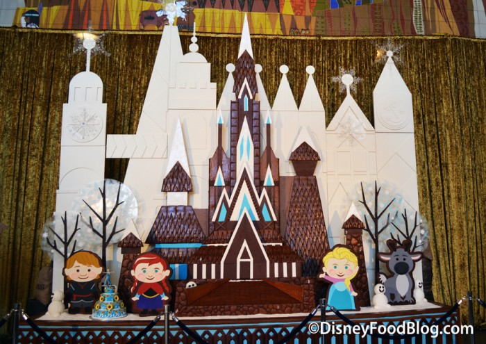 Contemporary Gingerbread Display