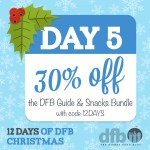 DFB 12 Days of Christmas: Day 5 — Save 30% on Our Most Popular Disney Dining Guidebook Bundle