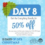 DFB 12 Days of Christmas: Day 8 — Get Every DFB Guidebook for 50% Off Cover Prices!
