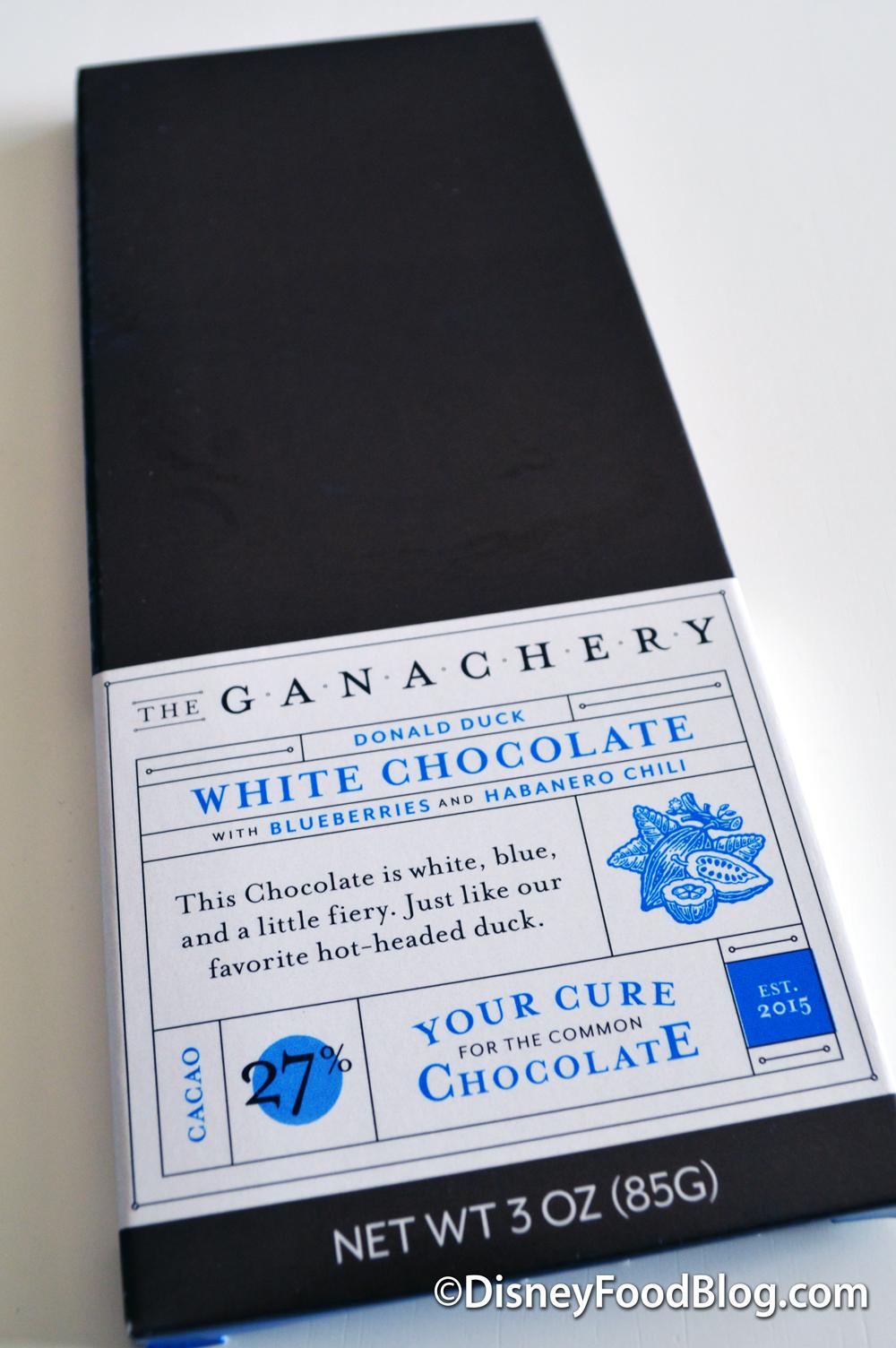 Donald Duck Chocolate Bar Ganachery