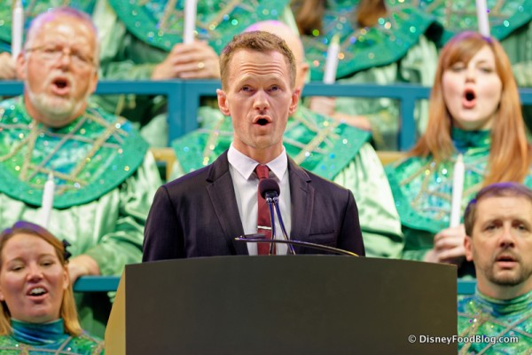 News! More Narrators Announced for 2016 Epcot Candlelight Processional