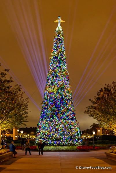 Epcot Futureworld Christmas and holidays 14-020