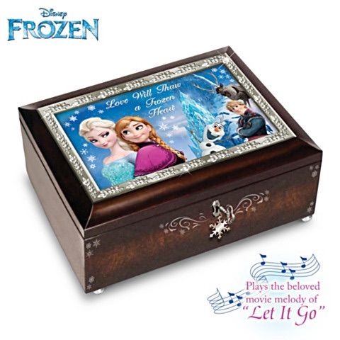 Frozen Musical Jewelry Box