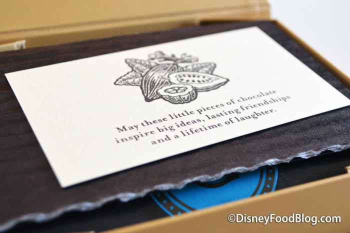"""May these little pieces of chocolate inspire big ideas, lasting friendships and a lifetime of laughter."""