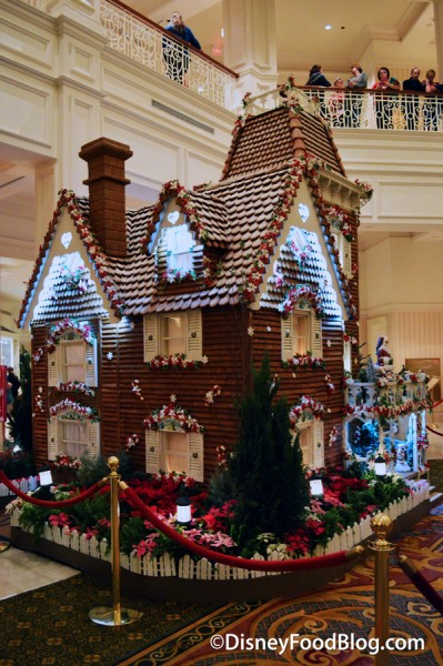 Grand Floridian Gingerbread House 2015