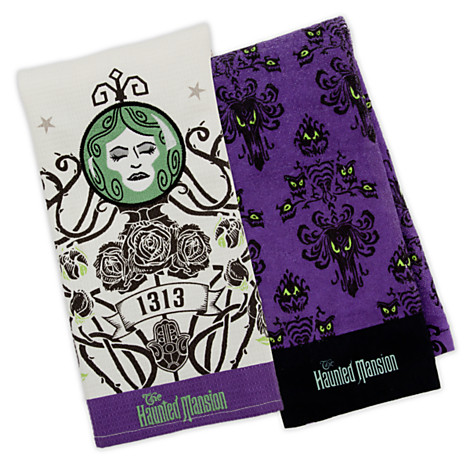 Haunted Mansion Towels