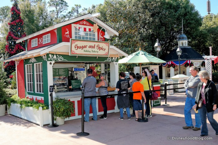 Sugar and Spice Kiosk