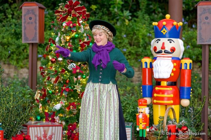 Celebrating Christmas in Epcot's Germany Pavilion