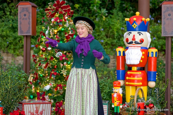 Celebrating Christmas in Epcot's Germany Pavilion
