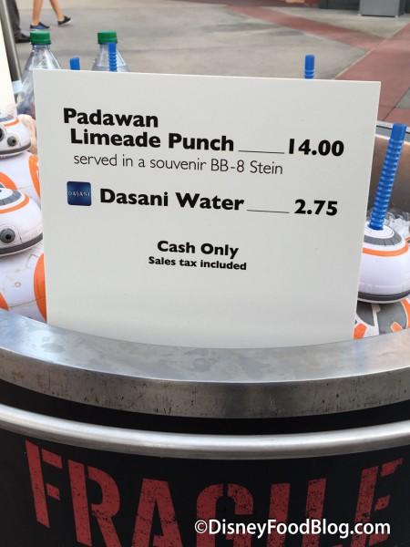 Padawan Limeade Punch