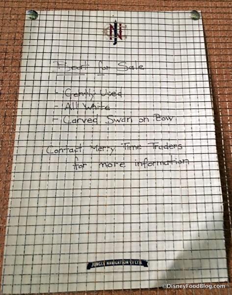 Crew Bulletin Board