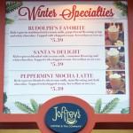 Review: Winter Specialty Drinks at Joffrey's Disney Kiosks