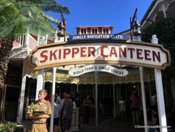 Skipper Canteen Entrance