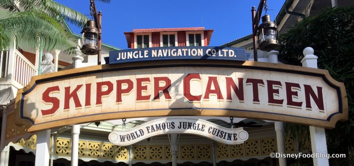 Jungle Skipper Canteen sign