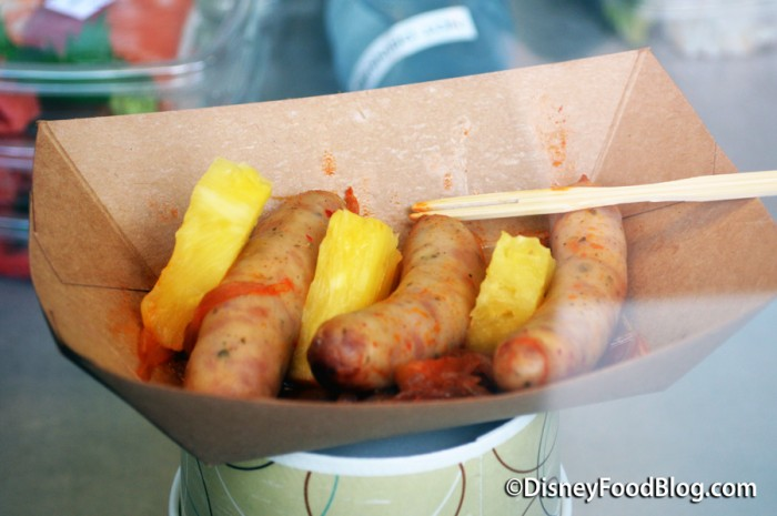 Grilled Kurobuta Pork Sausage