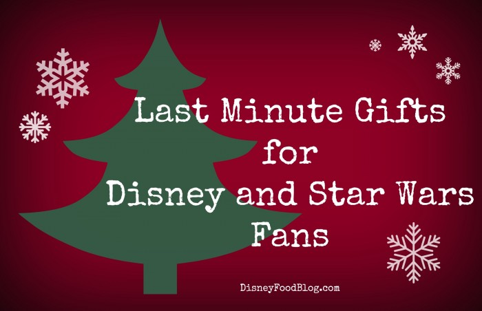 Last Minute Gifts for Disney and Star Wars Fans