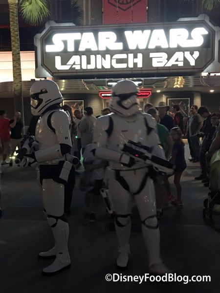 Stormtroopers Outside Of Launch Bay
