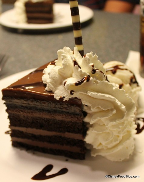 Mom's Favorite Chocolate Peanut Butter Layers Cake