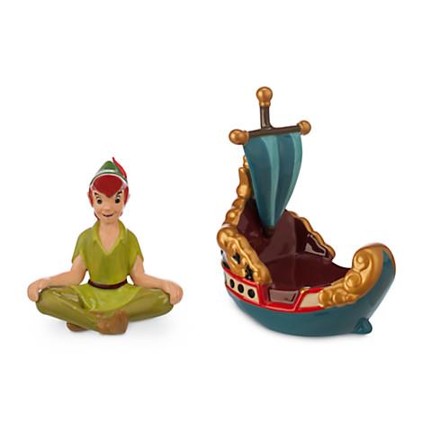 Peter Pan Salt and Pepper Shakers