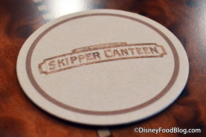 Skipper Canteen Coaster