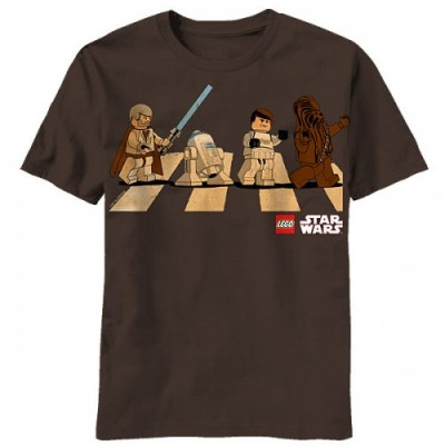 Stars Wars Lego Abbey Road Mash Up Tee