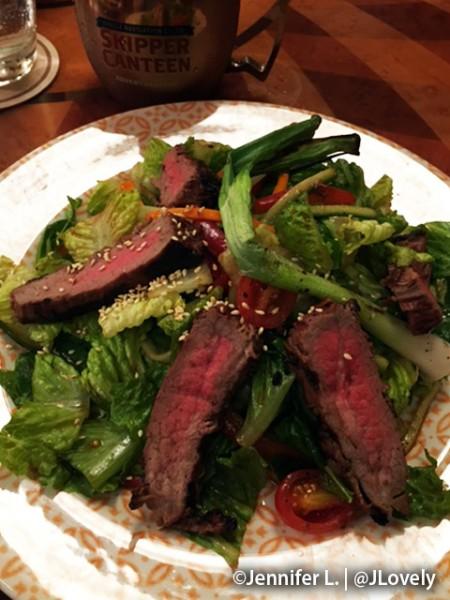 """""""A Lot at Steak"""" Salad"""
