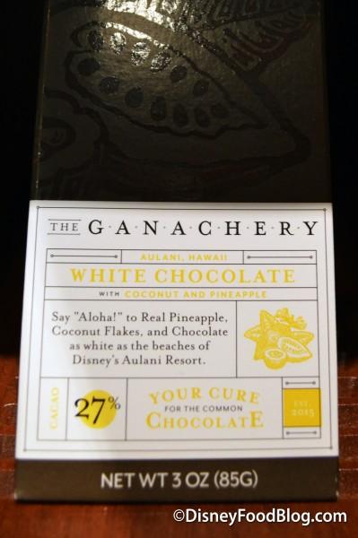 The Aulani, Hawaii Chocolate Bar