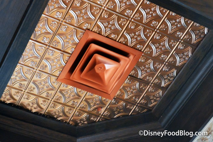 Copper Tiled Ceiling