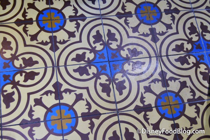 Beautifully Tiled Floors