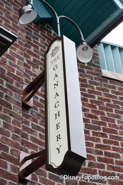 The Ganachery sign