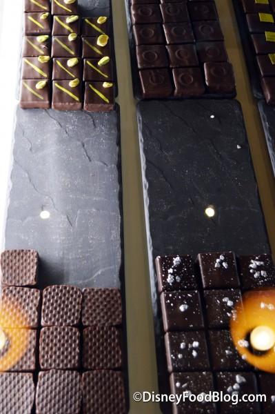 Mint, Pistachio, Vanilla, Dark 65%