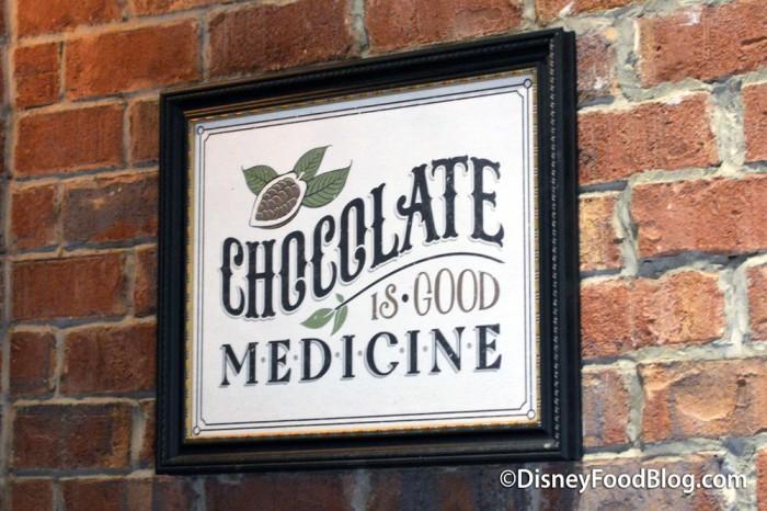 """Chocolate Is Good Medicine"""