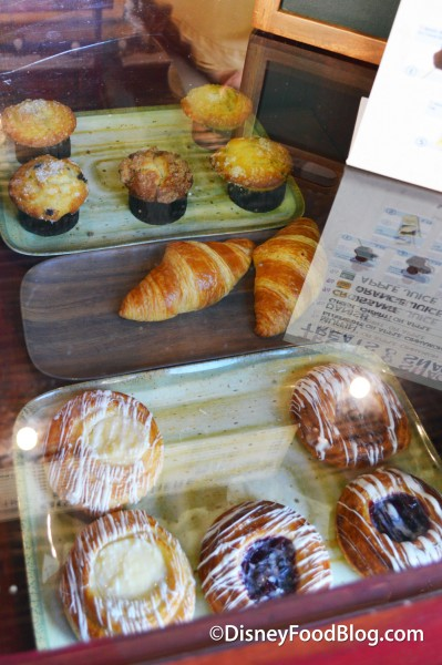 Danish, Croissants and Muffins