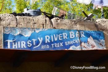 Thirsty River Bar and Trek Snacks