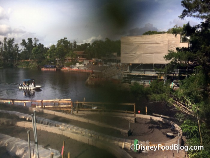 Rivers of Light Spectacular Construction
