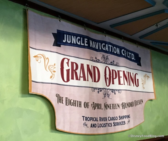 Jungle Navigation Co. Grand Opening Banner