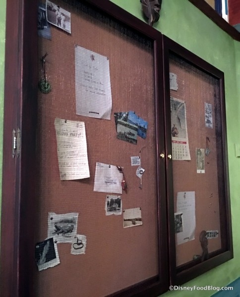 Crew Mess Hall Bulletin Board