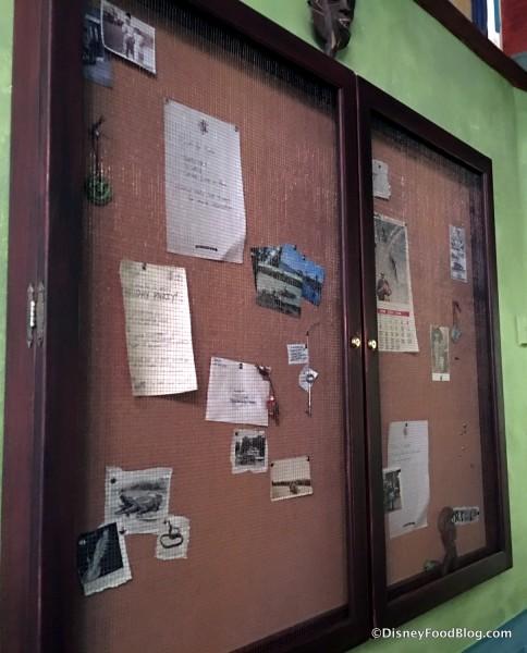 Crew Mess Hall Bulletin Board