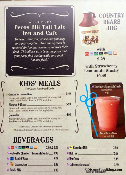 Peco S Bill Tall Tale Inn And Cafe